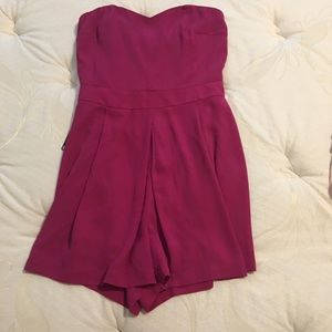 Express pink romper NWT size 2